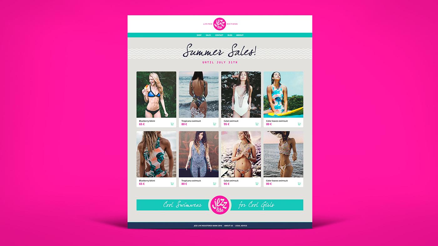 swimwear bikini beach California summer clothes