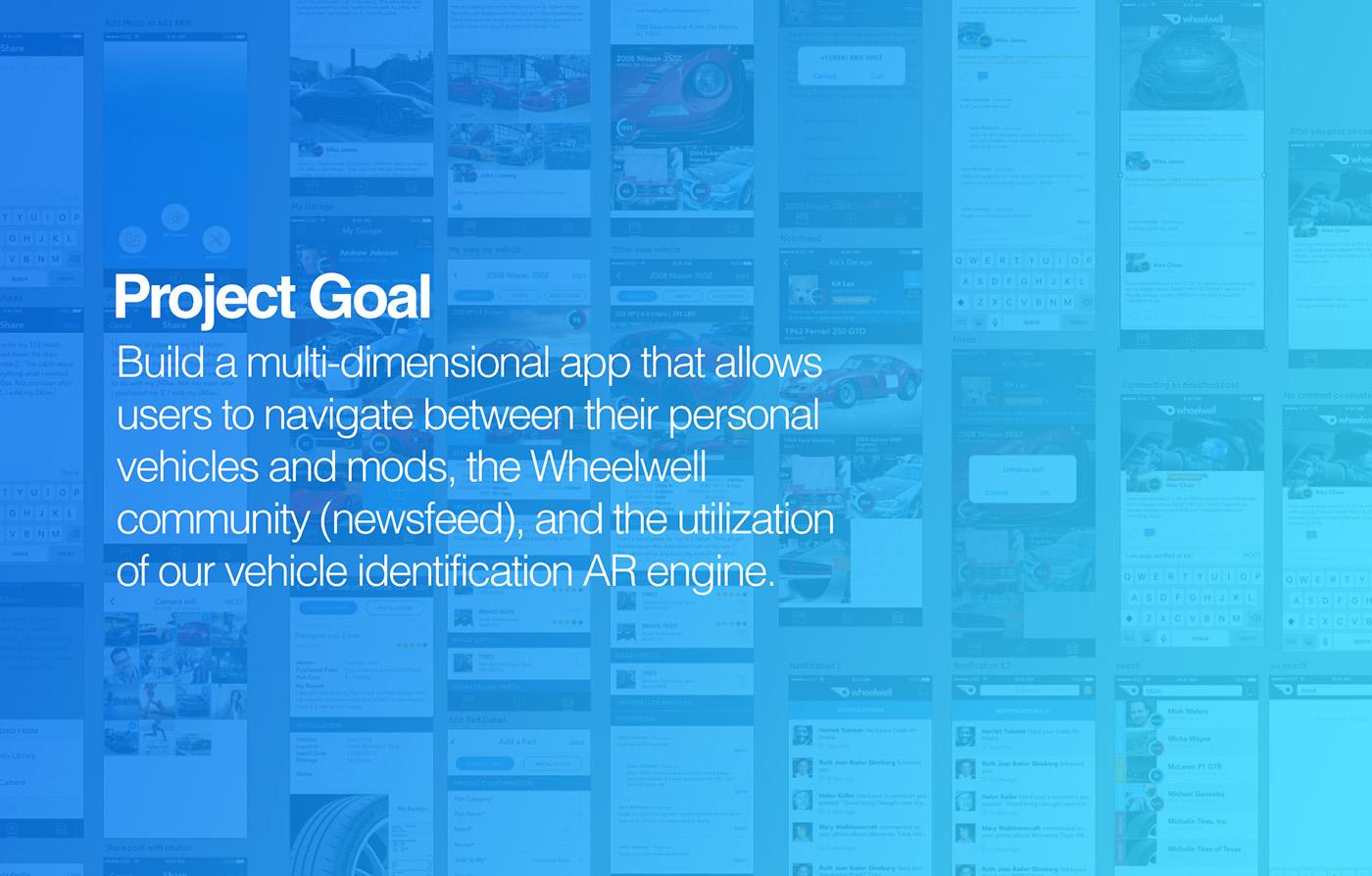 wheelwell AR augmented reality Mobile app ar app