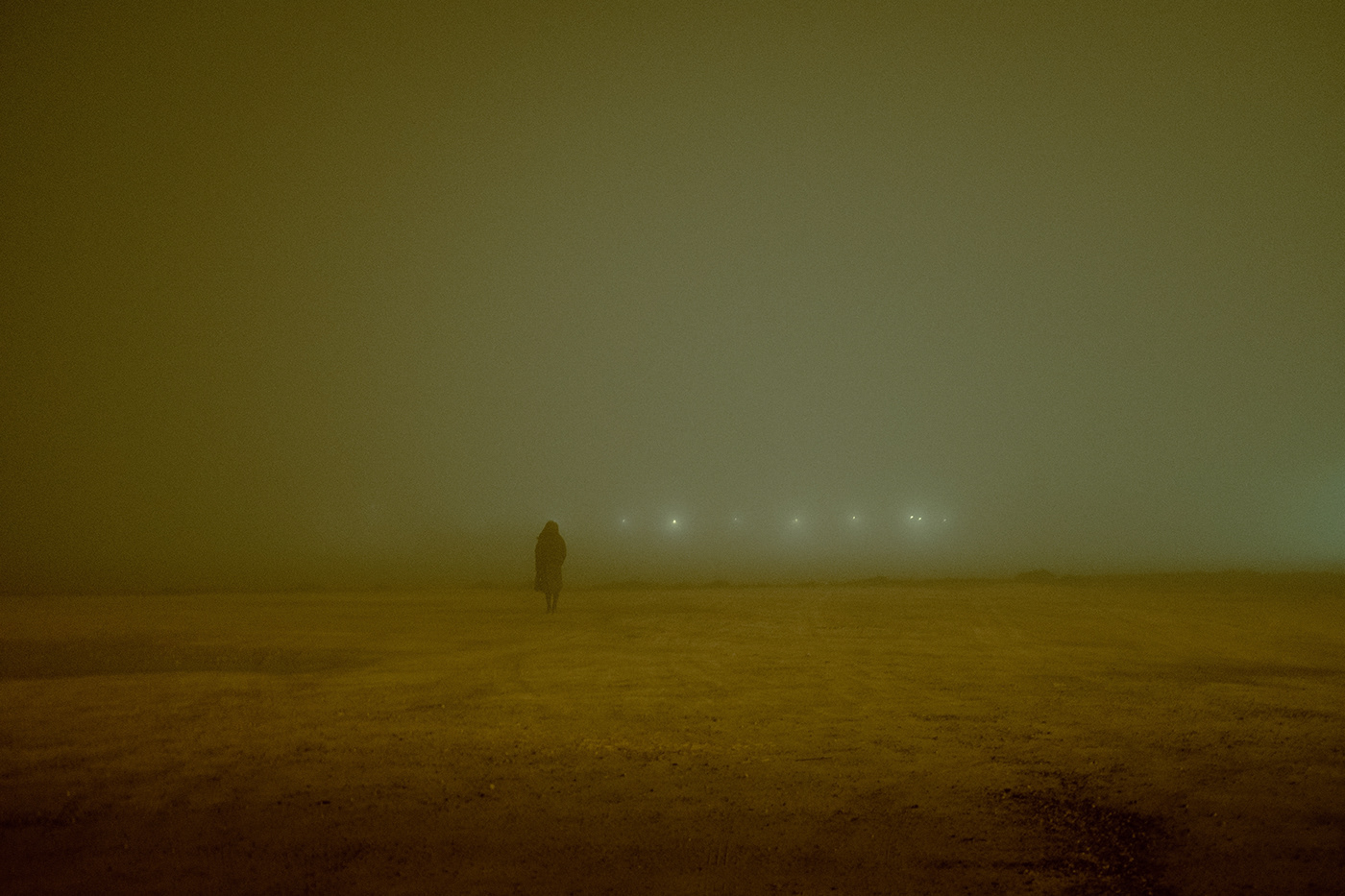 fog weather photohraphy x100f people Ambient night cinematography lights