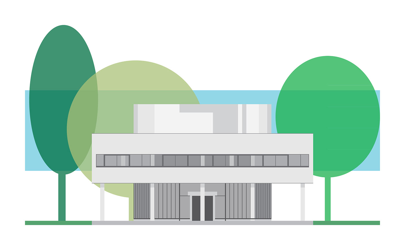 Picture Book Illustration Making An Architectural Model: Architecture Illustration 2 On Behance