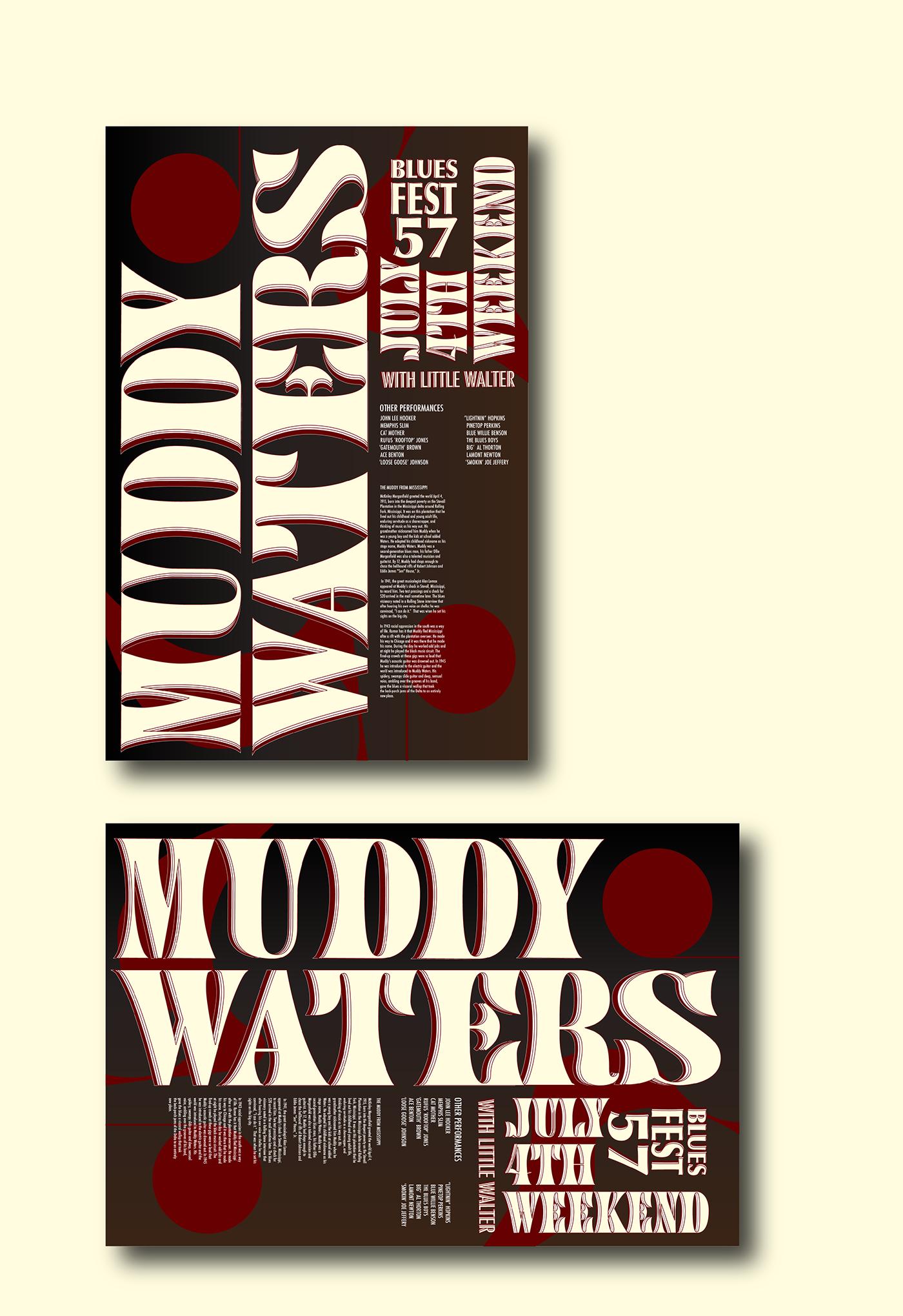 poster concert Illustrator InDesign graphic design  Advertising  music