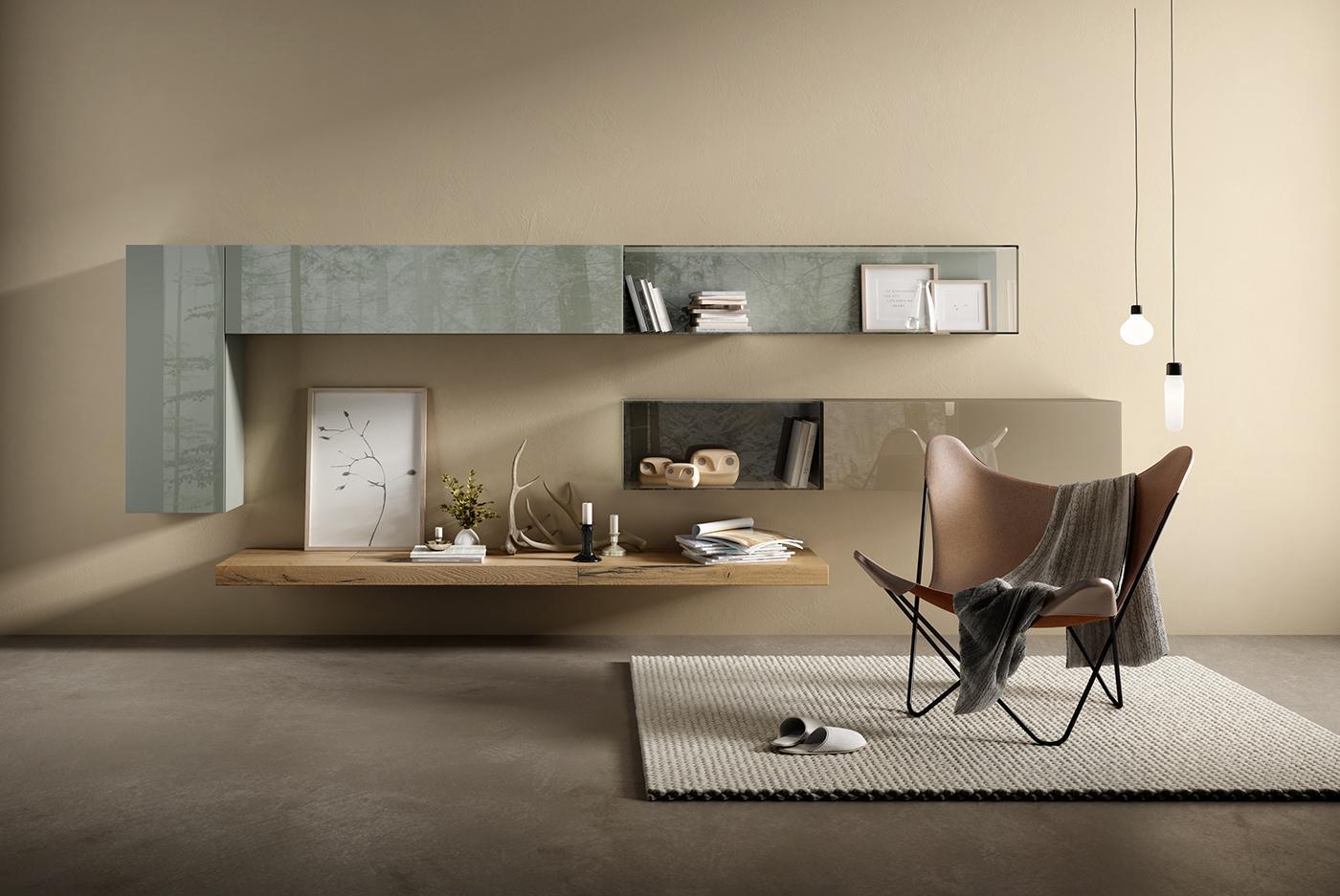 Concept room lago living on behance for Lago living room