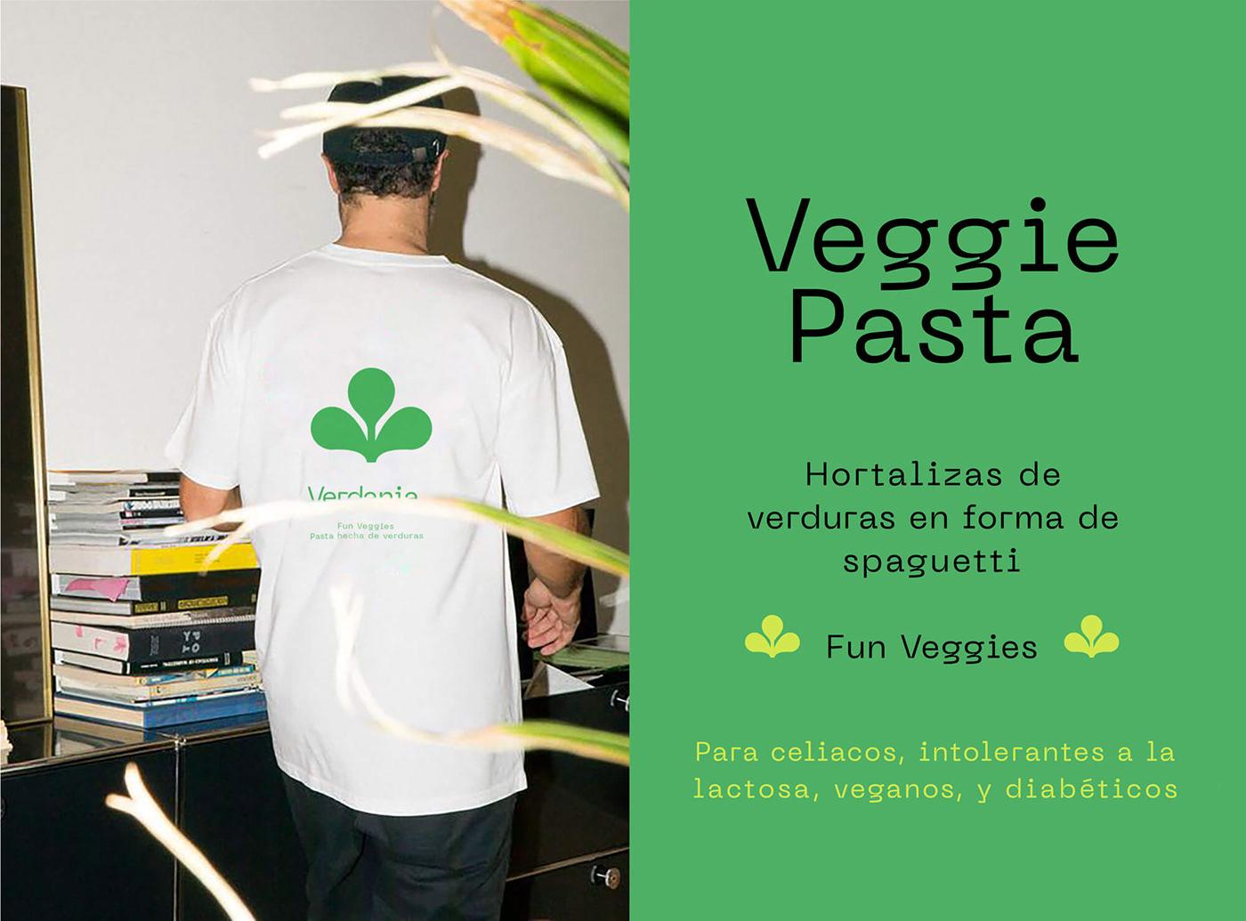 branding  color natural noodles organic Packaging planet vegan green vegetables