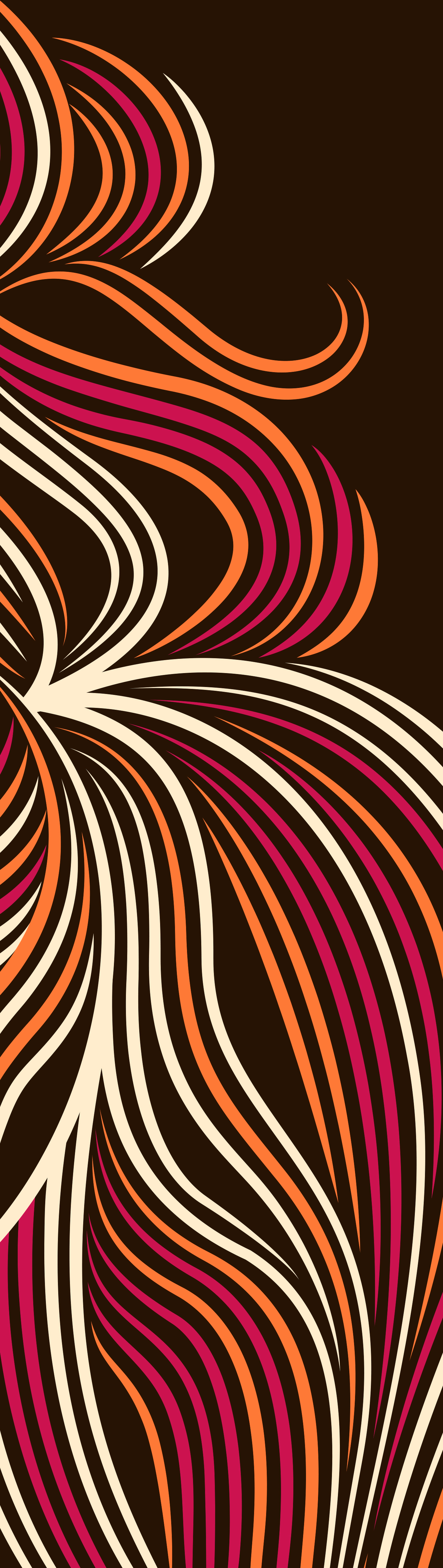 lion lines colors animal wild symetric adobe creative cloud Illustrator