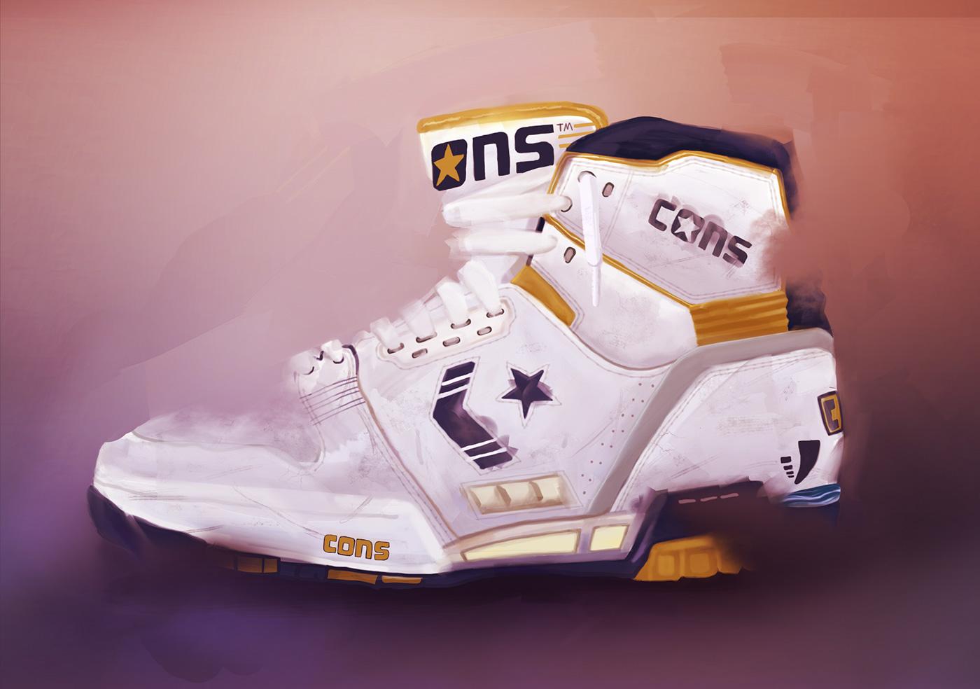 sports shoes ac10c 58bca New Balance, M 576 NGA, 20th Anniversary Vintage Edition, 2008 2. Nike, Air  Jordan V, 1990 and 2000 3. Converse, Cons erx 400, Lakers, 1989