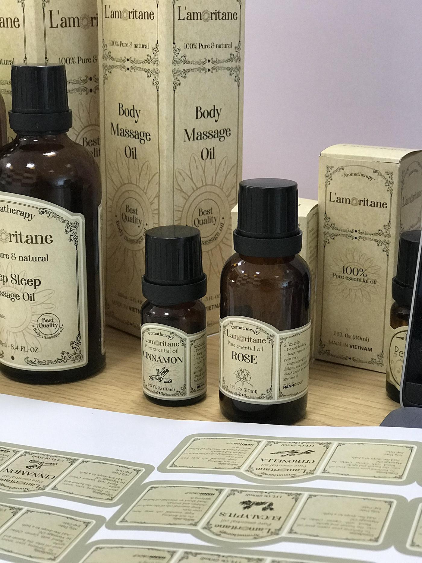 Label pham son designer Packaging