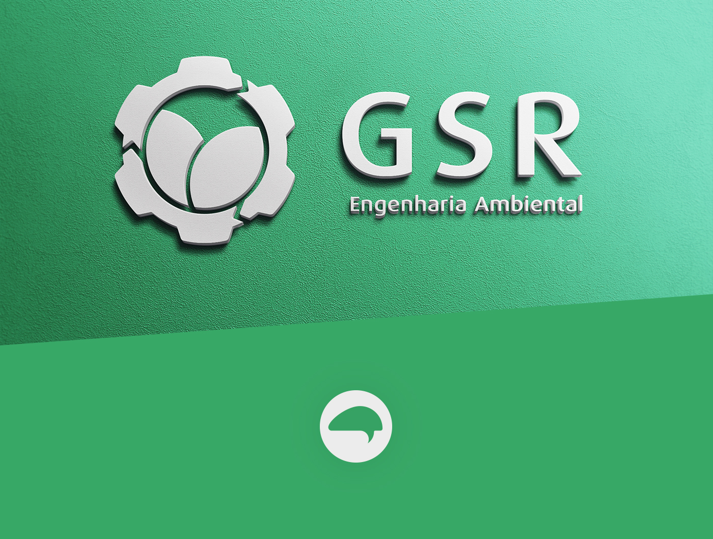 environmental engineering engineerring environment engenharia ambiental Engenharia mark logo Corporate Identity visual identity green Sorocaba