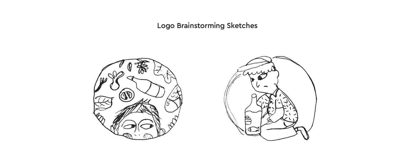 drinks greek illustrations kids logo Logo Design menu restaurant