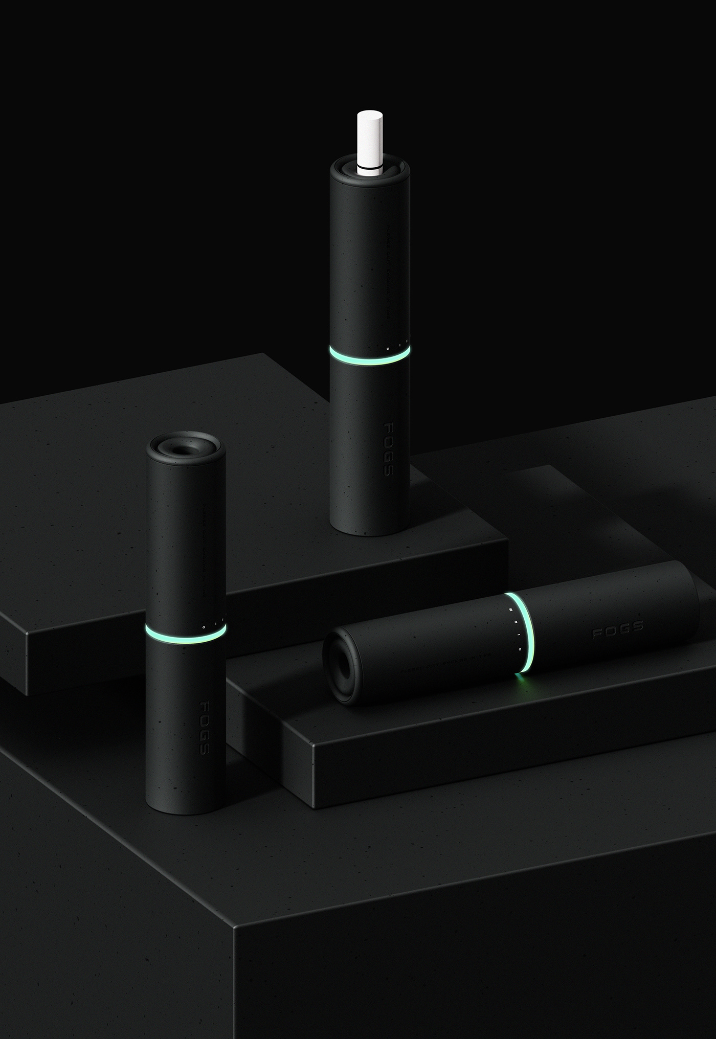e-cigarette Experience lipstick product design  Technology