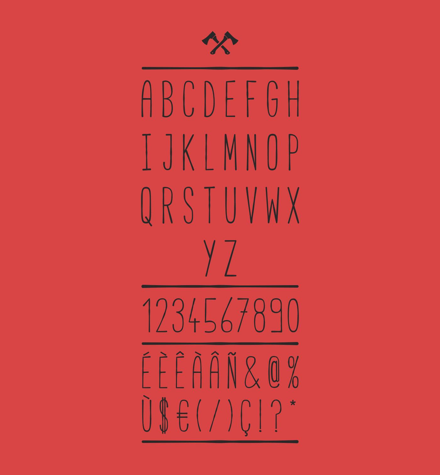 Free font free font type Typeface logo Typographie hand handwritten wanderlust handmade new adrien Coquet lille