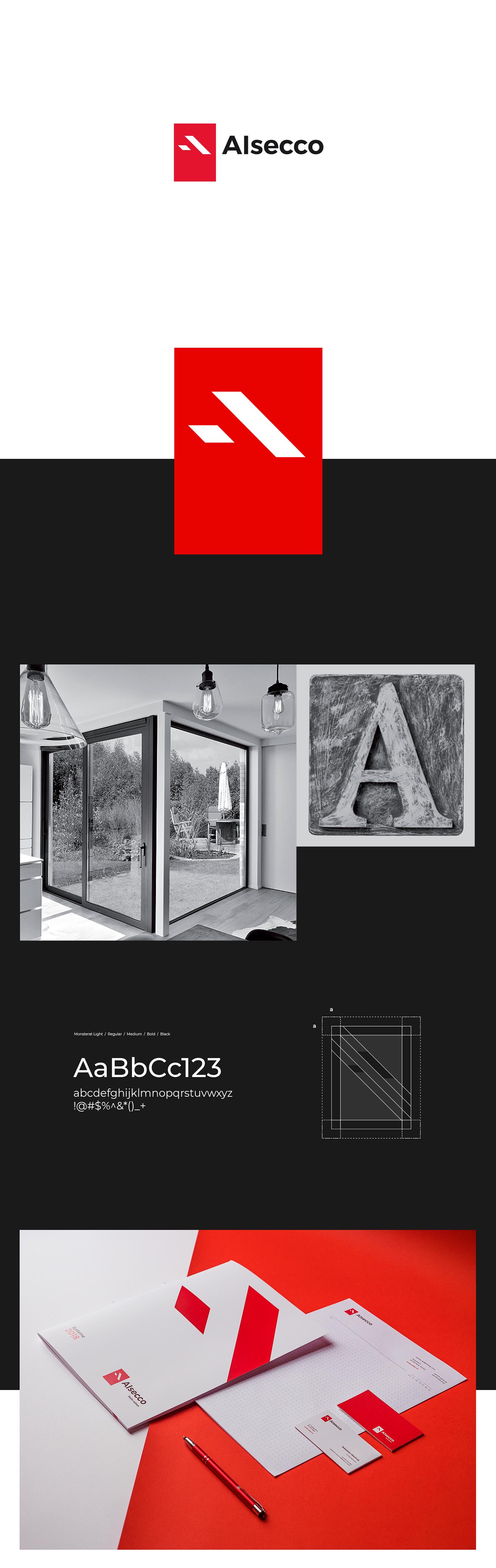 windows factory door alsecco red geometry minimal product home