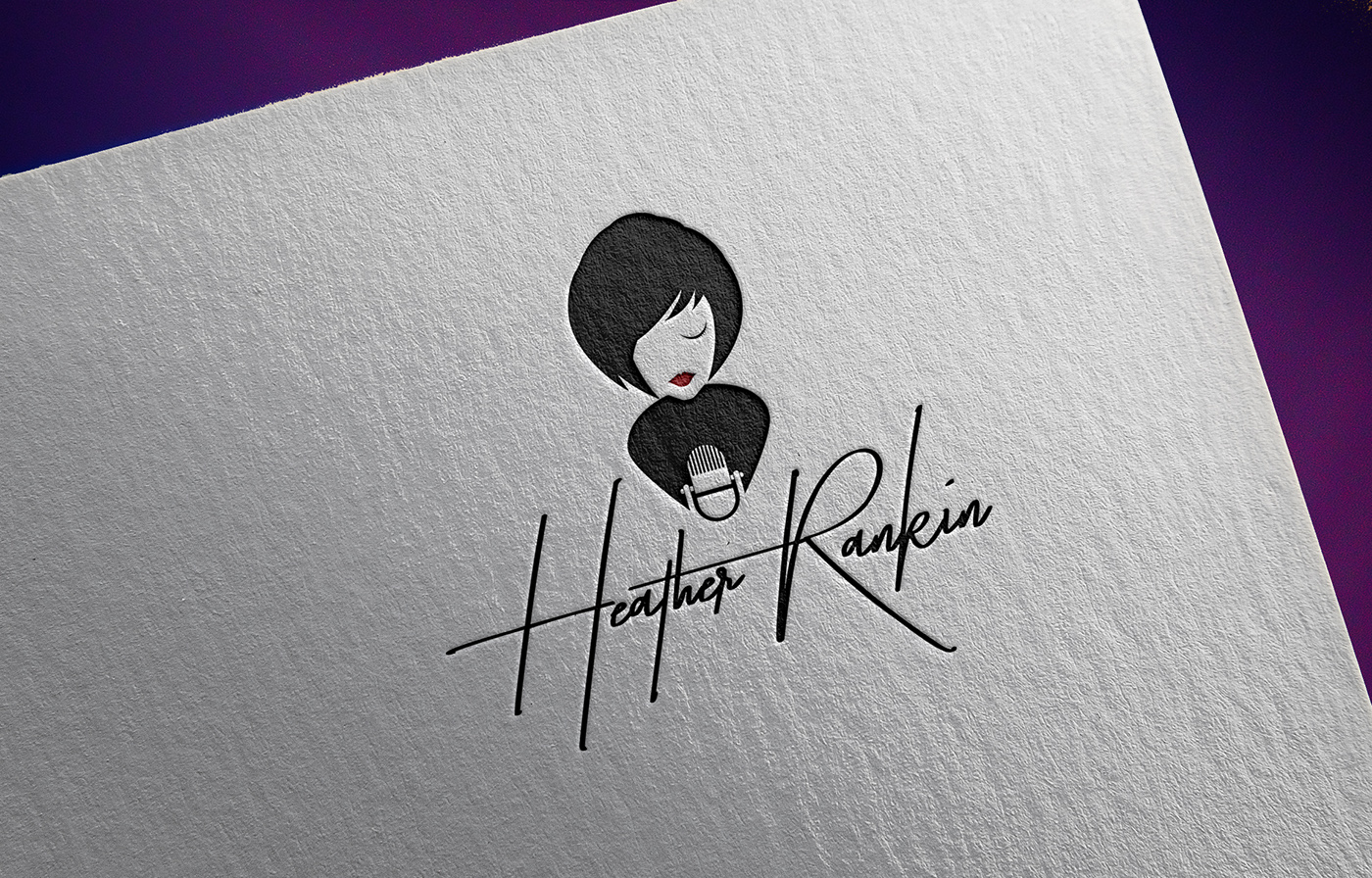 Heather Rankin Singer song characterture Icon symbol