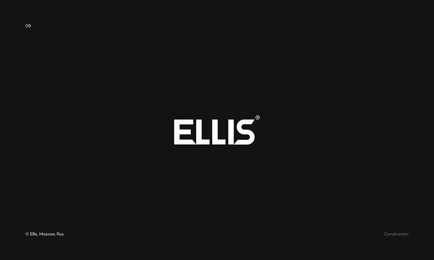 Logo for Ellis — The biggest franchise in the construction sector in Russia.