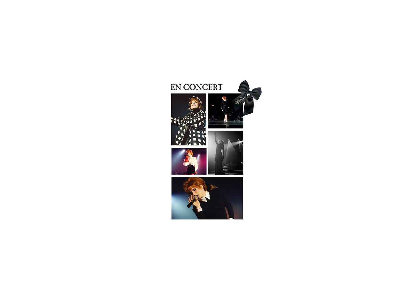 Album Bercy blu-ray concert live live show Mylène Farmer poster steelbook vinyl