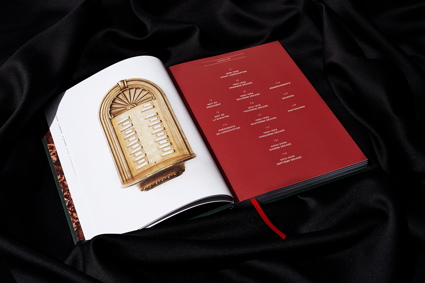 Image may contain: book, indoor and menu