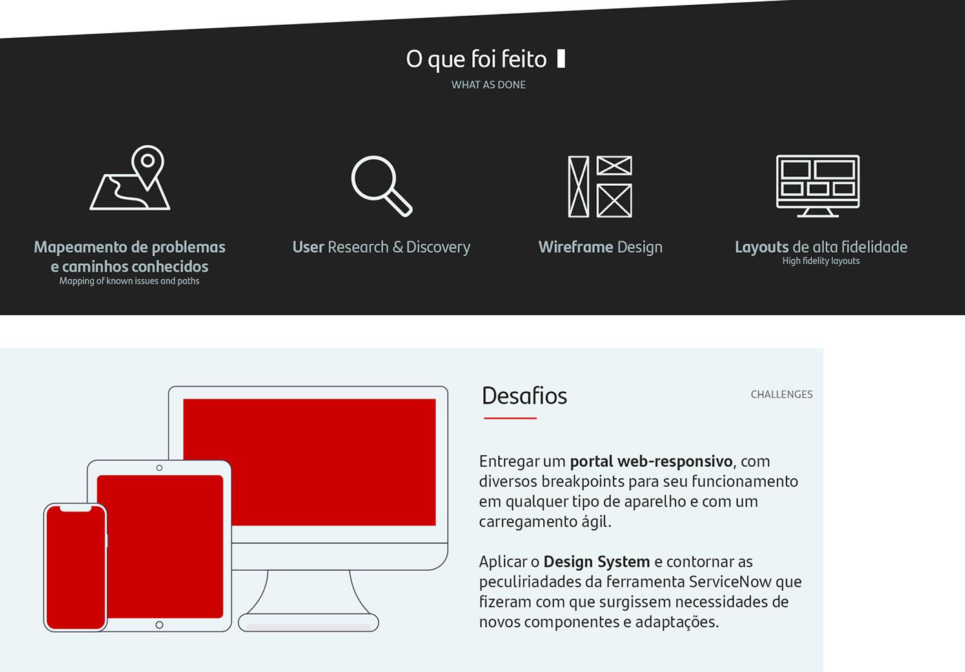 Bank design digital Fintech service portal servicenow Technology user experience user interface
