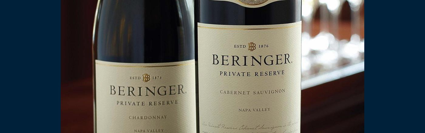 Beringer concept e-commerce UI ux/ui Webdesign website redesign wine winery Winery website