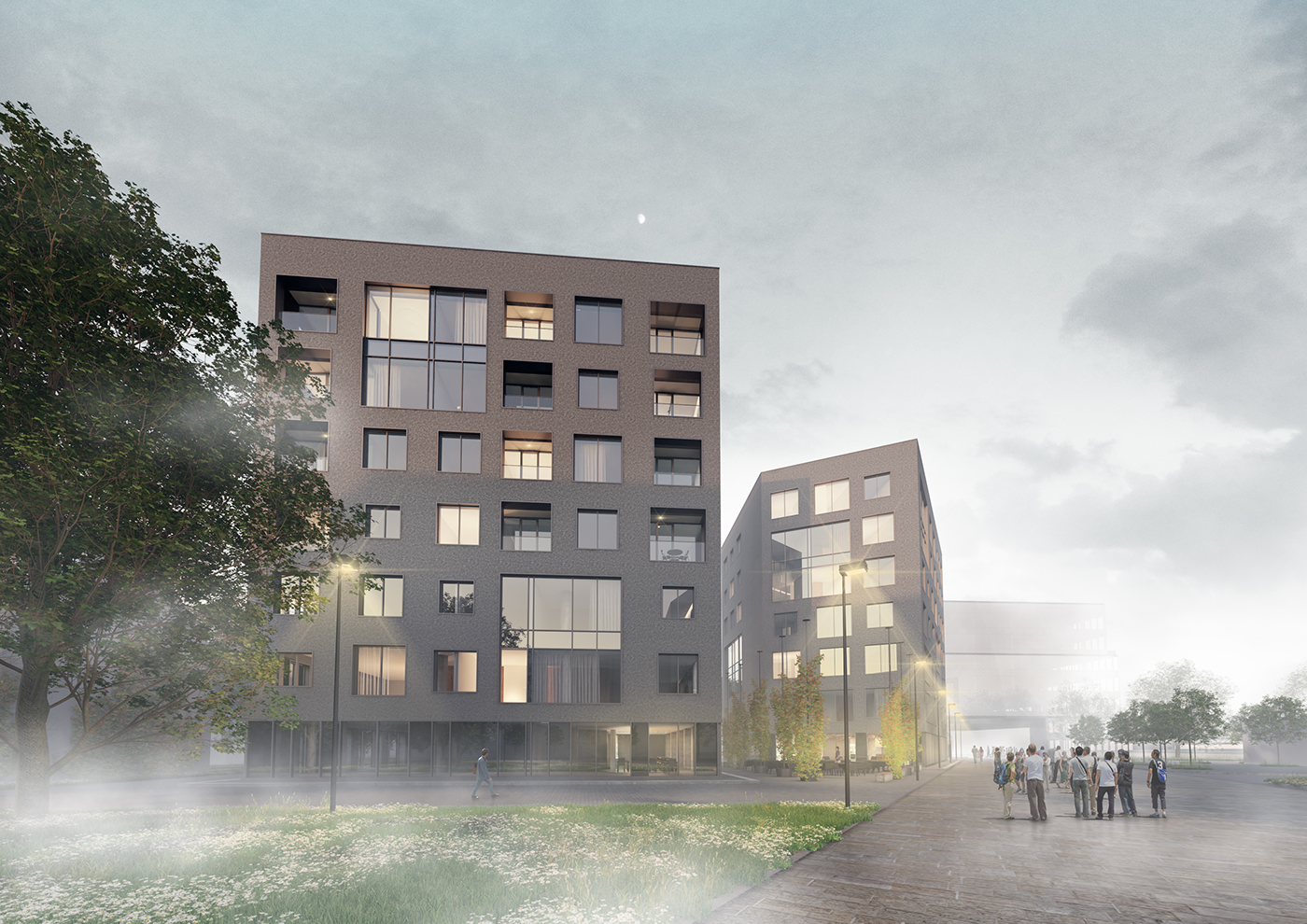 apartment building archviz Renders visualisation Architectural Visualisation lithuania Indeed 3D Studio