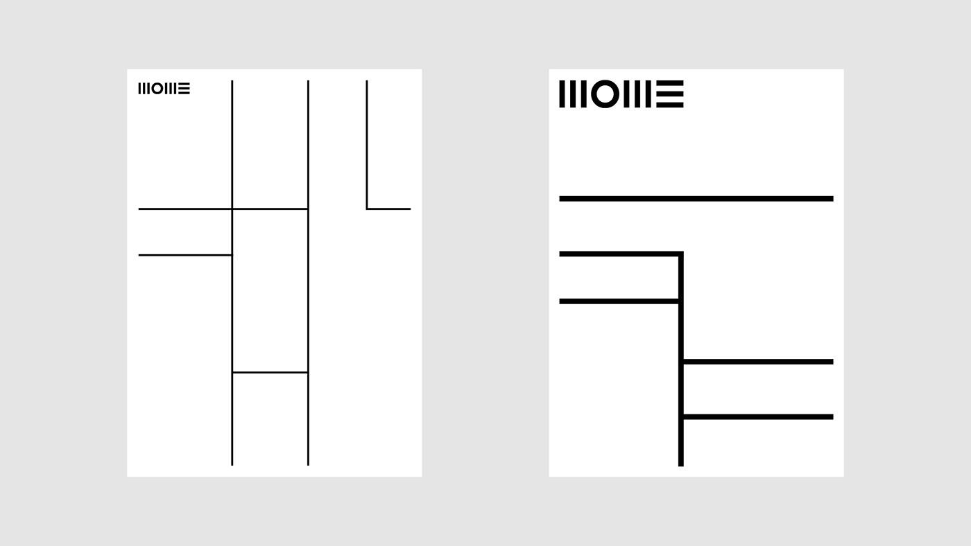 branding  concept graphic design  moholy-nagy mome University art university identity Layout Laslo