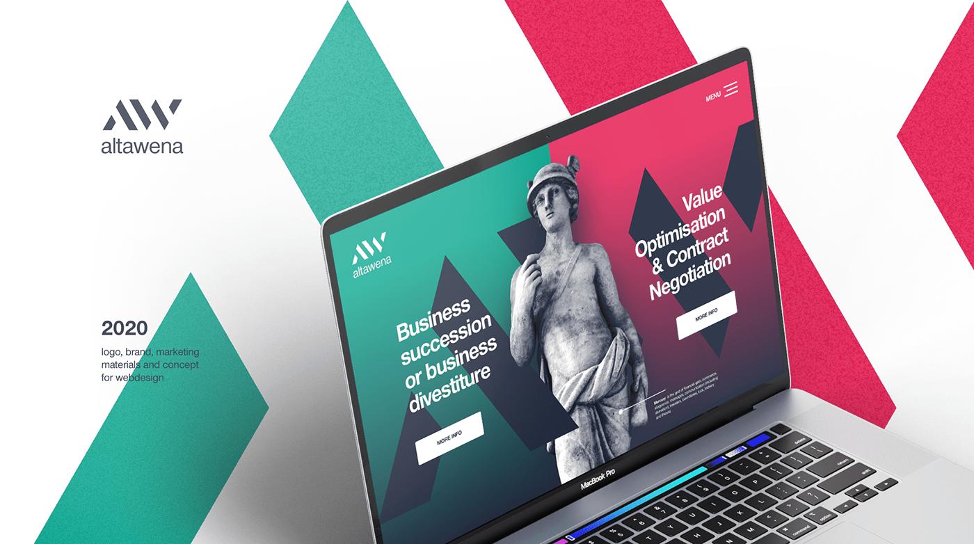 brand business design flyer logo luxrmbourg meercury UI ux Web