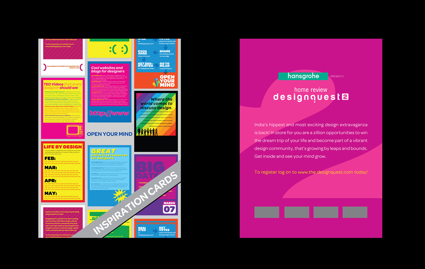 Designquest Integrated Campaign On Behance