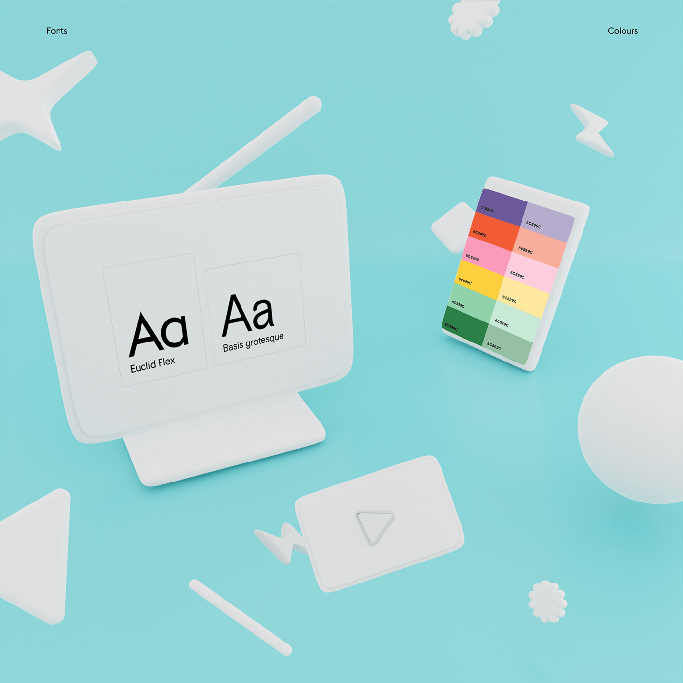 communication communtication agency identity for agency shapes motion 3D 3d motion Website
