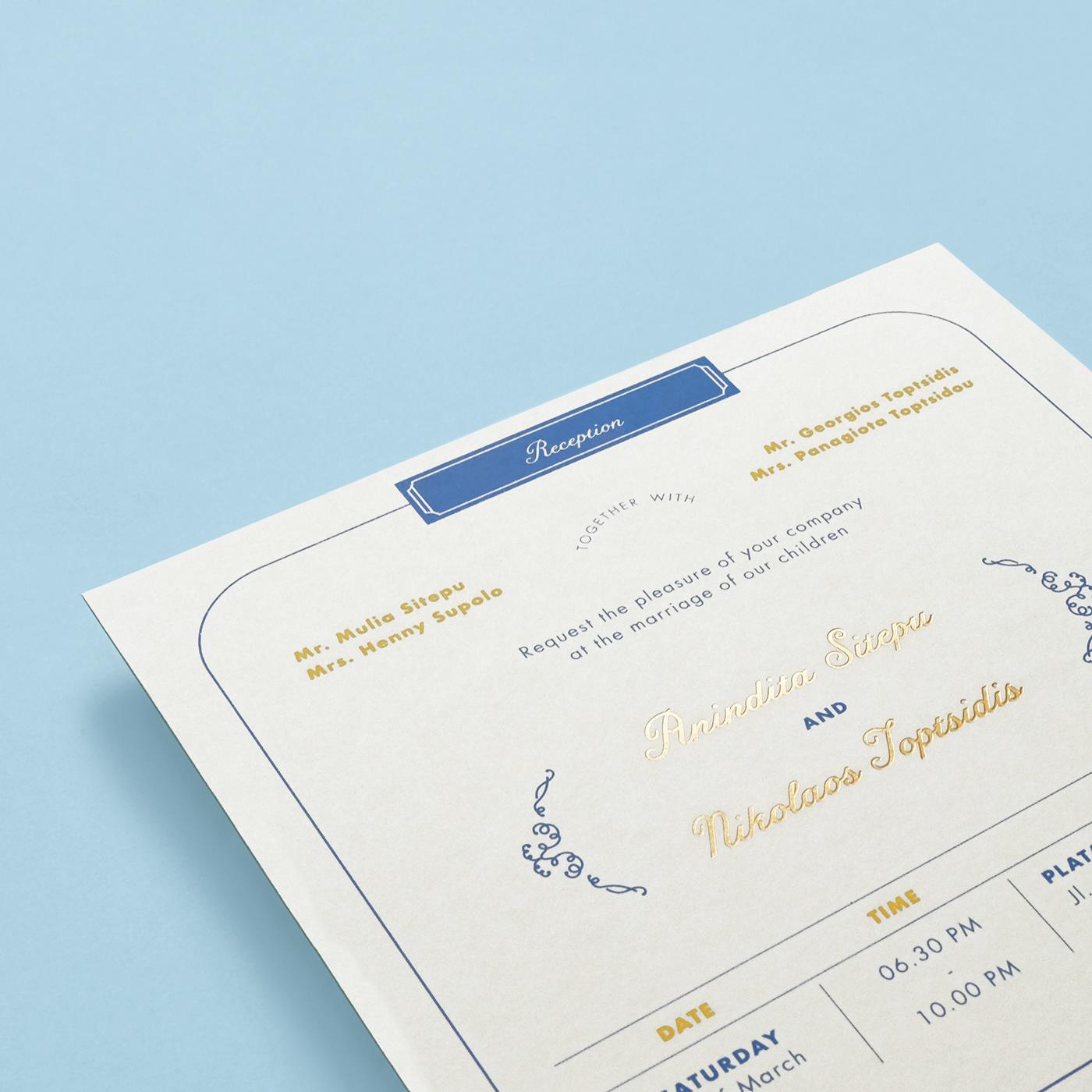 Wedding invitation content