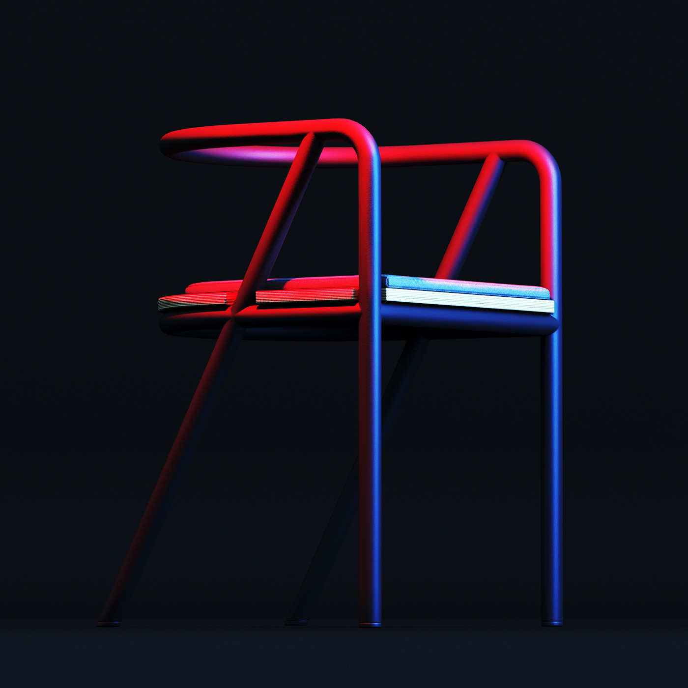 chair concept furniture design industrial design  interior design  Interior BESENSE free 3d 3D model