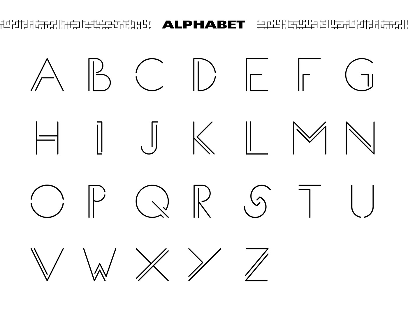 font typography   Illustrator Free font Typographic composition Typeface type Character mattia inghlieri 3D