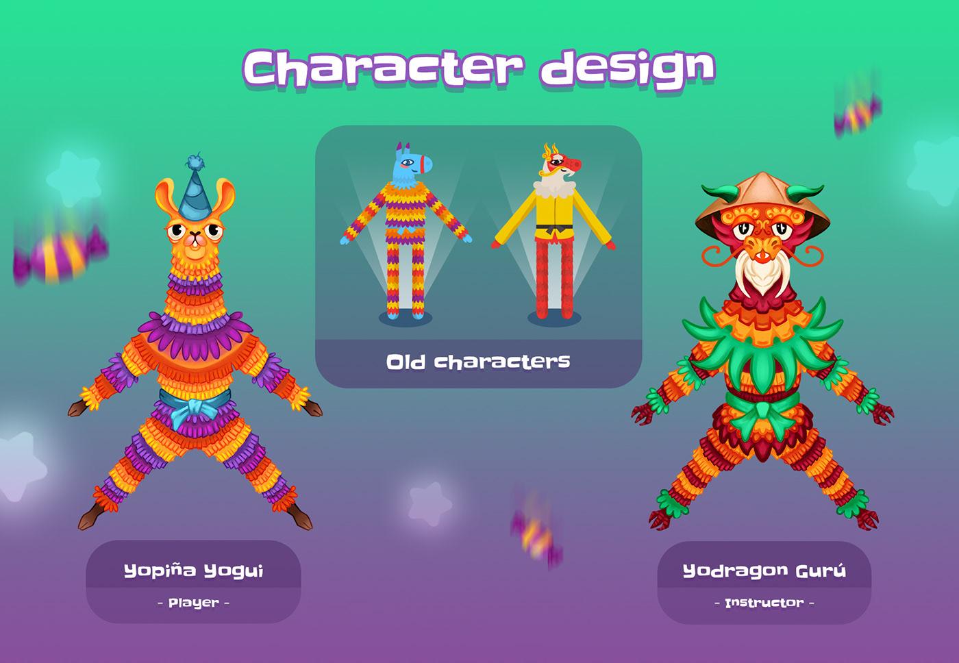 UI Game Art ILLUSTRATION  Character design  Digital Art  2D art