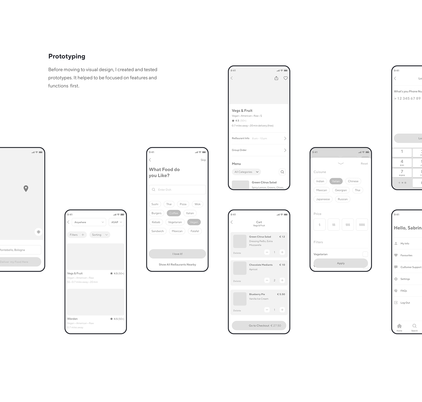 app Case Study delivery design Interface mobile product design  UI ux UX Research