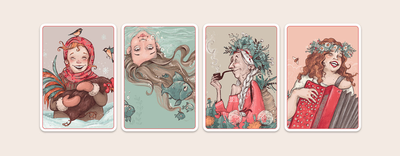 cartoon Character Character design  children book girls ILLUSTRATION  Illustrator Procreate woman young adult