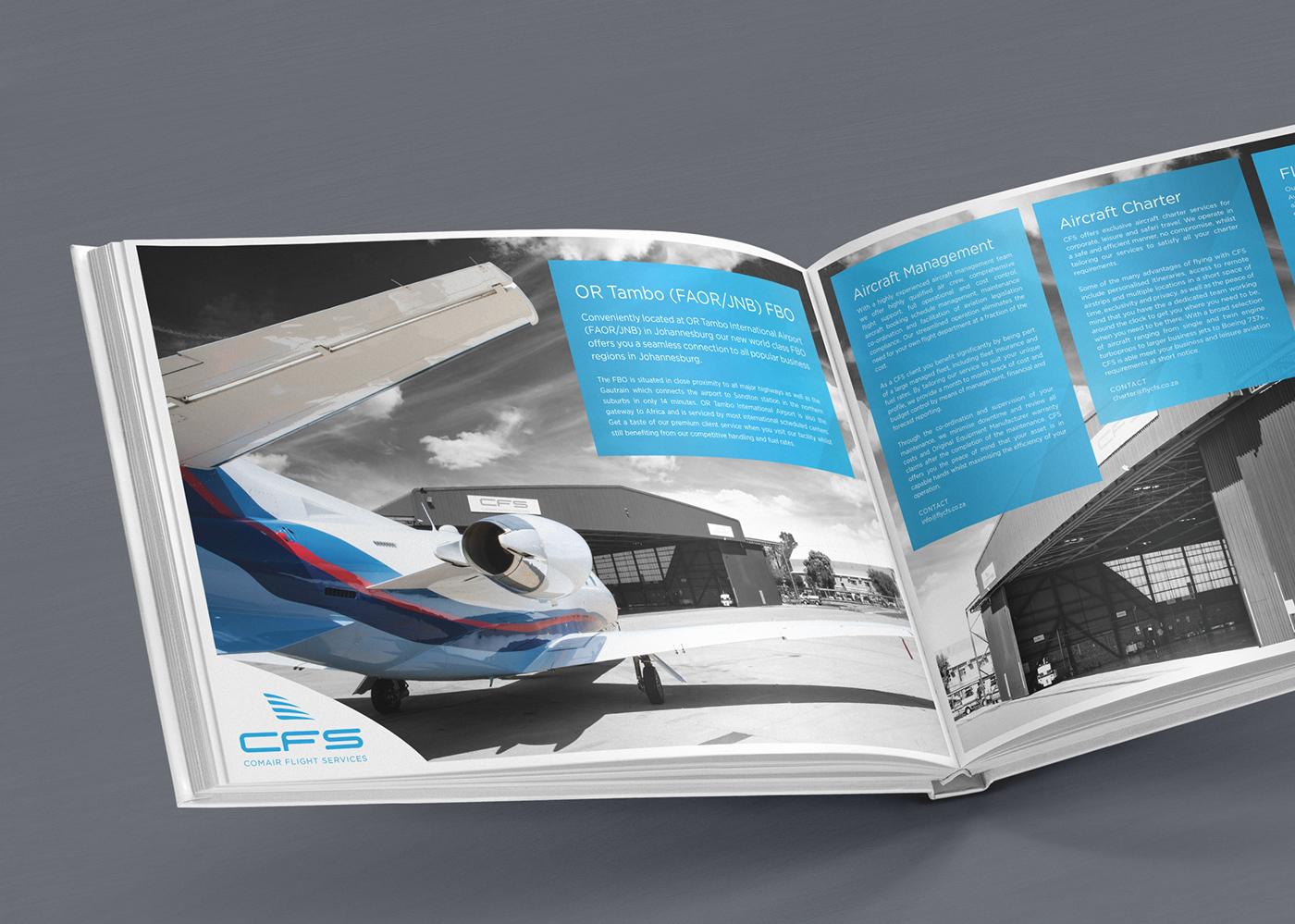 Comair Flight Services Corporate Identity on Behance
