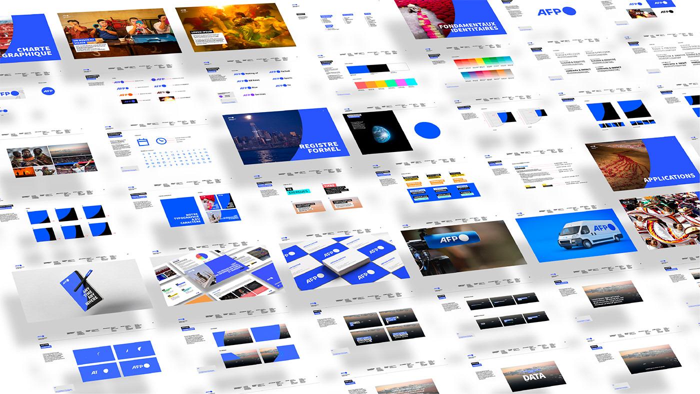 AFP,blue,news,agency,branding ,design,French,Journalist,logo,motion