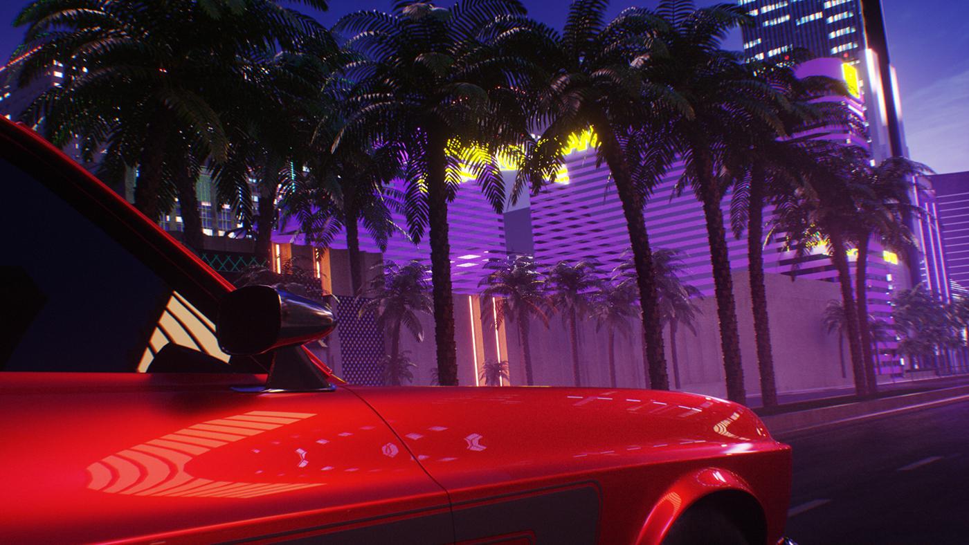 Motion & Digital Art: William Hill Vegas Ad.