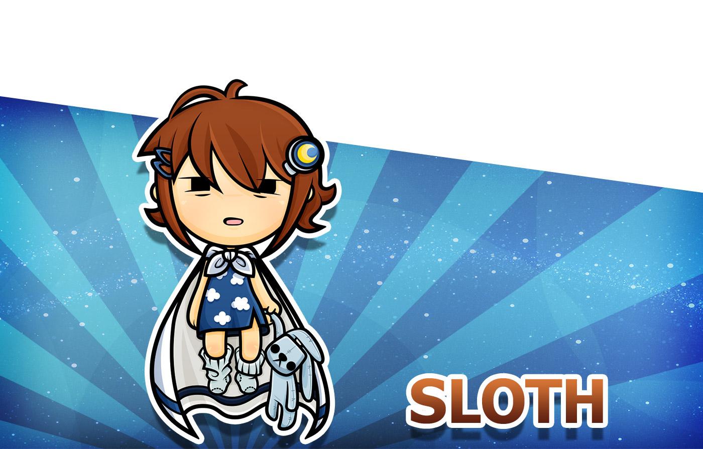 Good Character Design Apps : Kawaii character design for sweet sins game app on behance