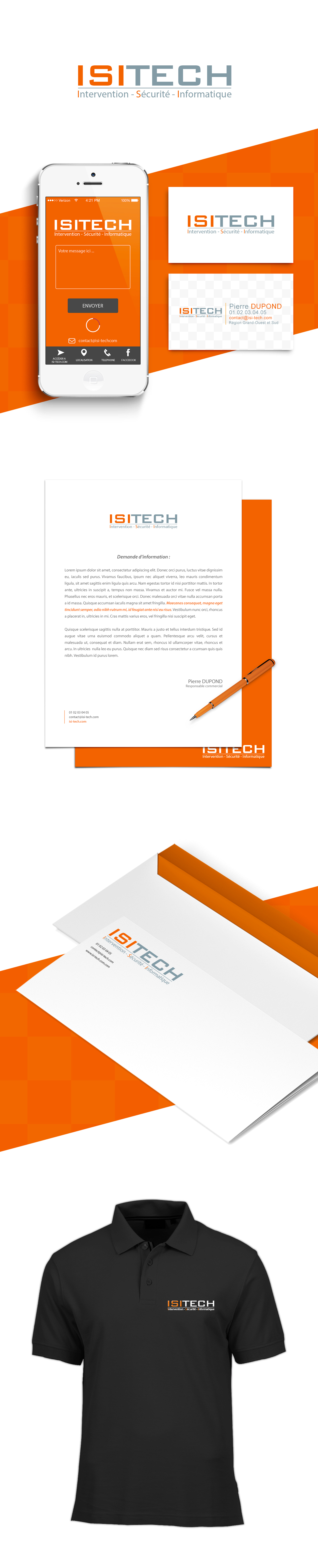 Logotype polo design mobile mobile site Web business card inspire