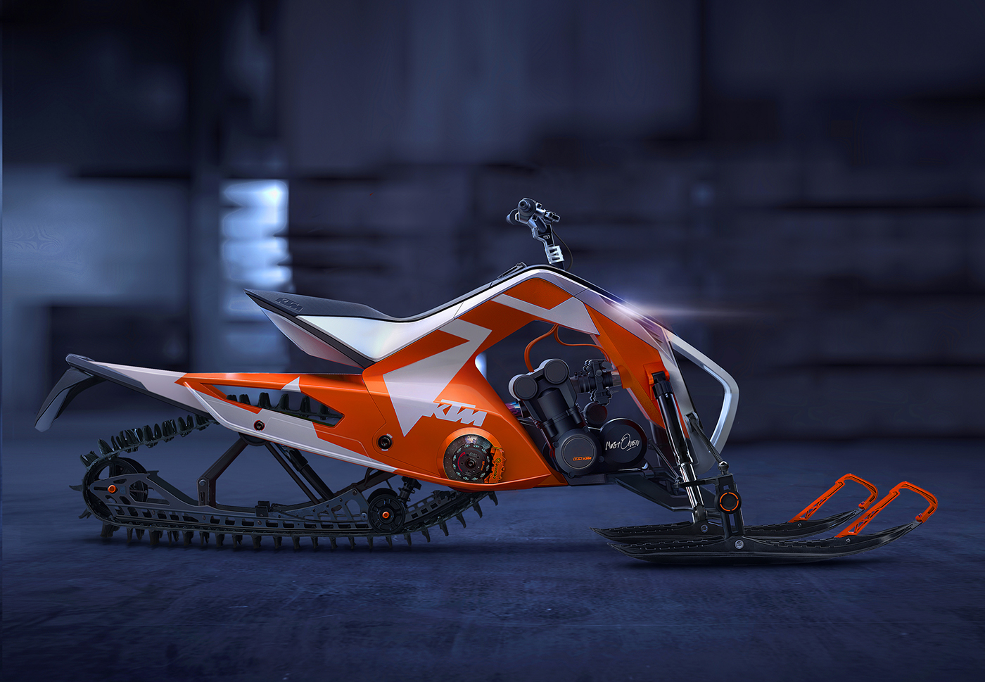 Ktm Quad Snowmobile