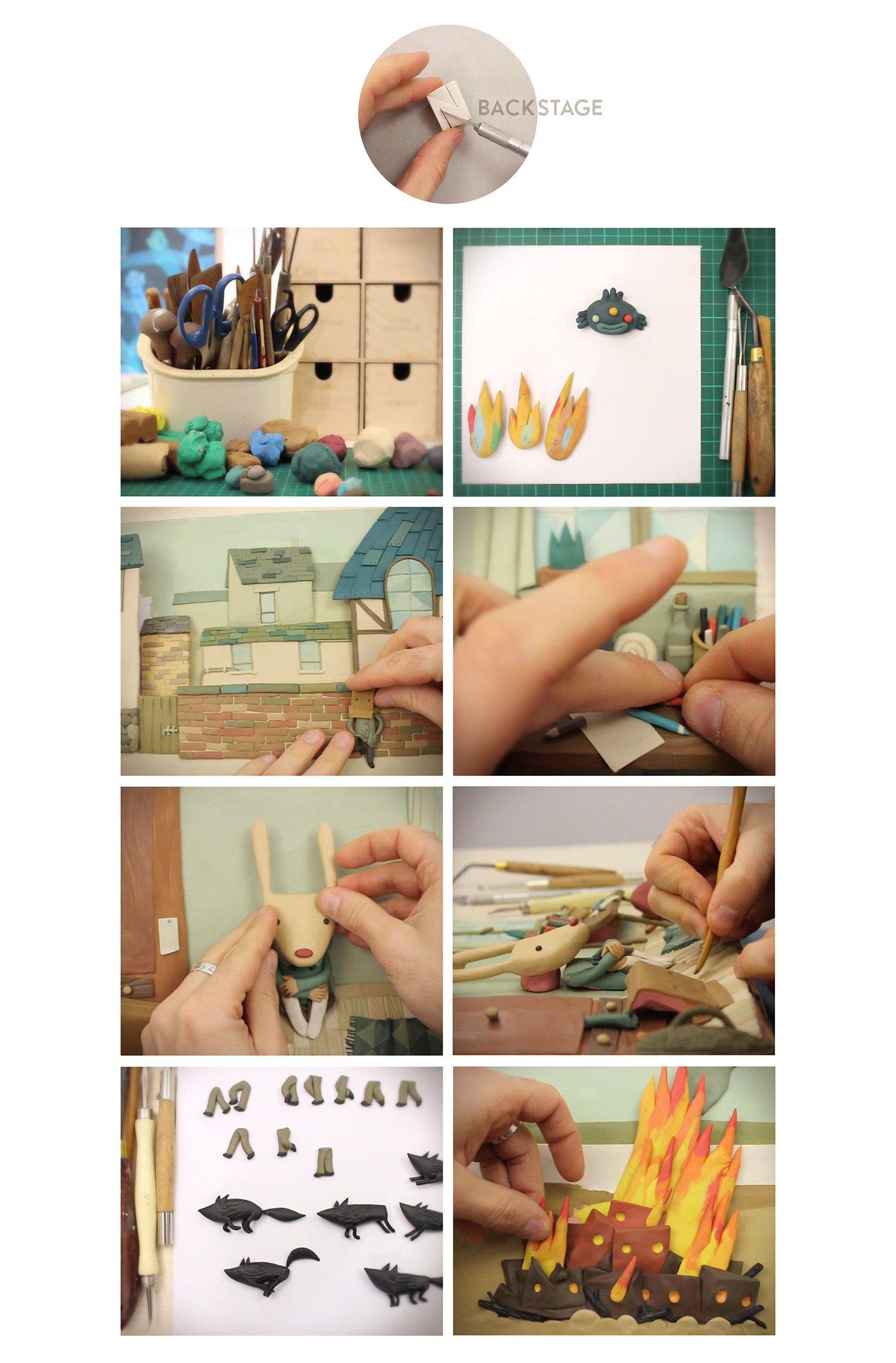 claymation   Plasticine stop motion animation  music video gianluca maruotti puppets