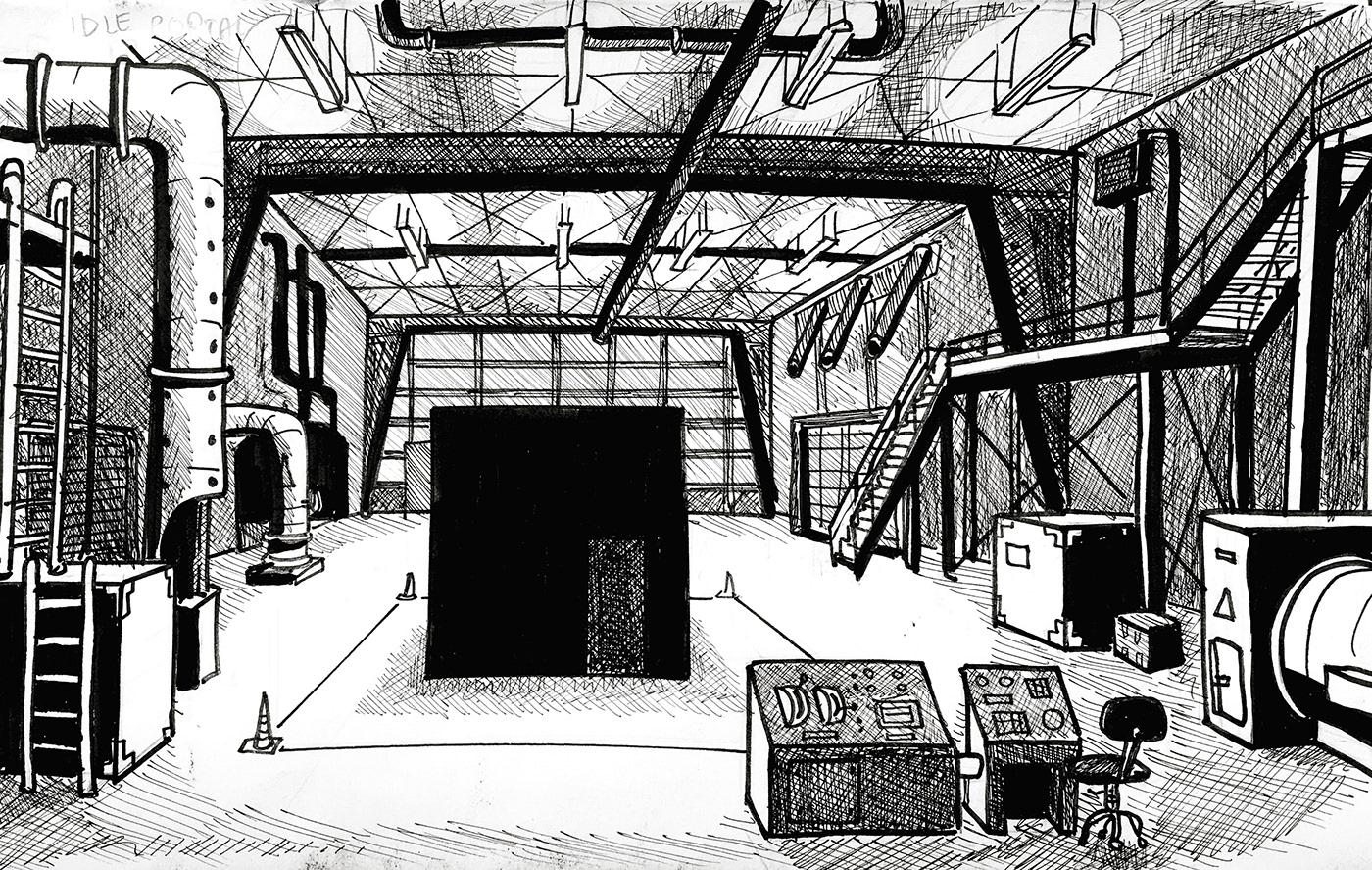 chernobyl comics Exclusion Zone post apocalypse ukraine Urban drawing urban exploration
