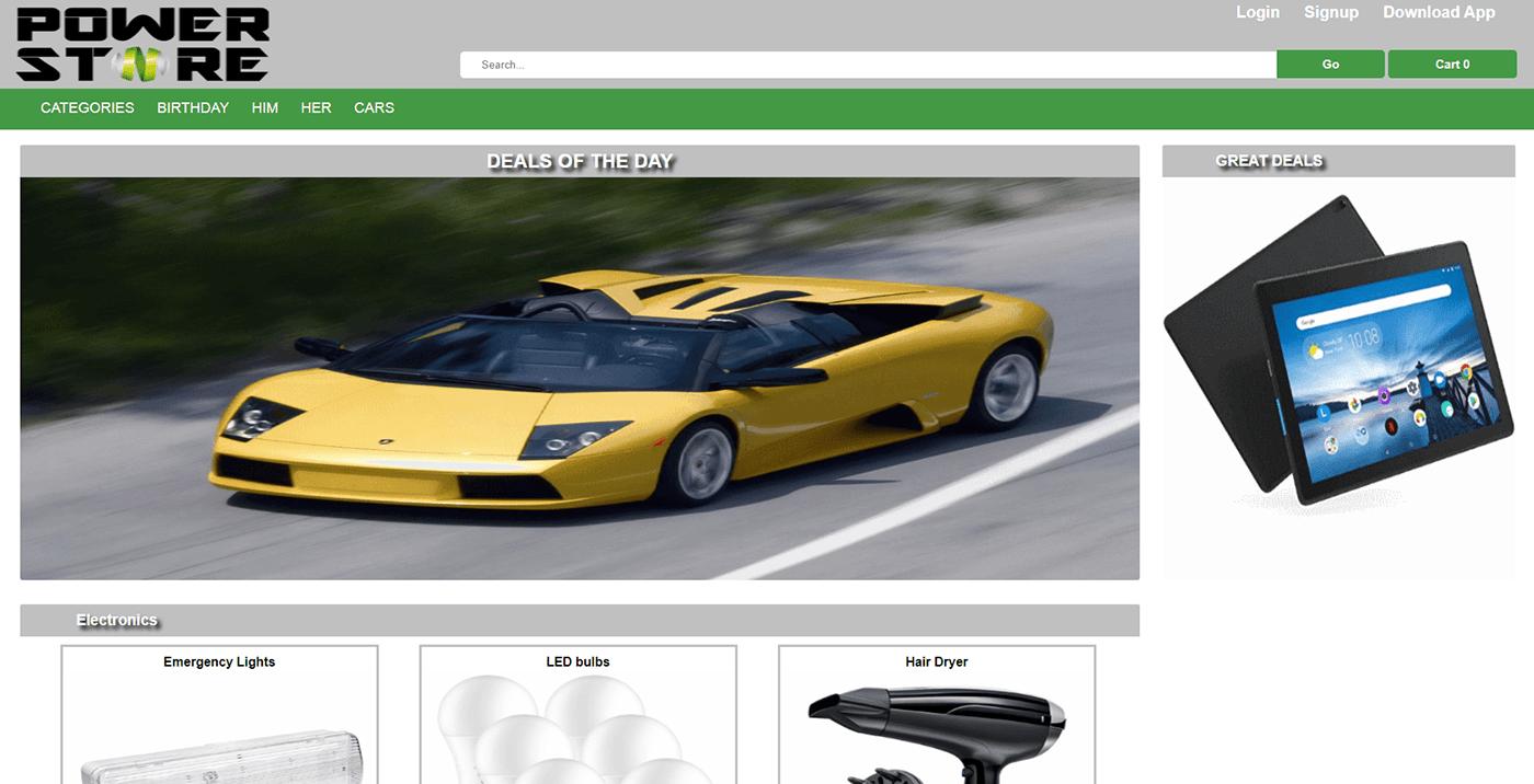 php JavaScript pdo visual studio code Android Studio store Power Store