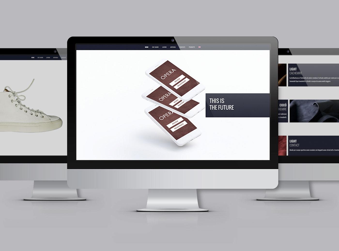 Realizzazione sito web Realizzazione grafiche per app Realizzazione video motion graphic presentazione app