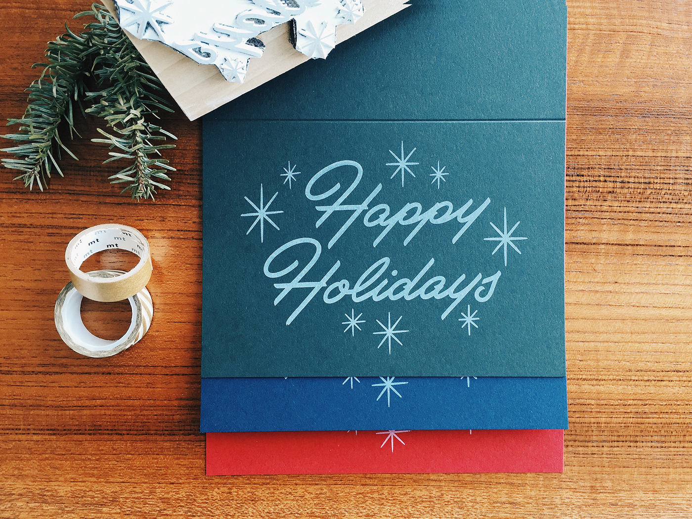 The most creative greeting cards for christmas print24 blog by drew melton via behance kristyandbryce Choice Image