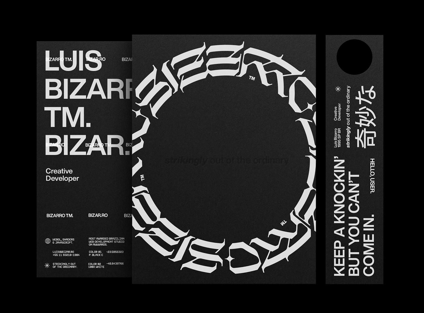 aesthetic Anti-Design Brutalism dispersion gothic type typography