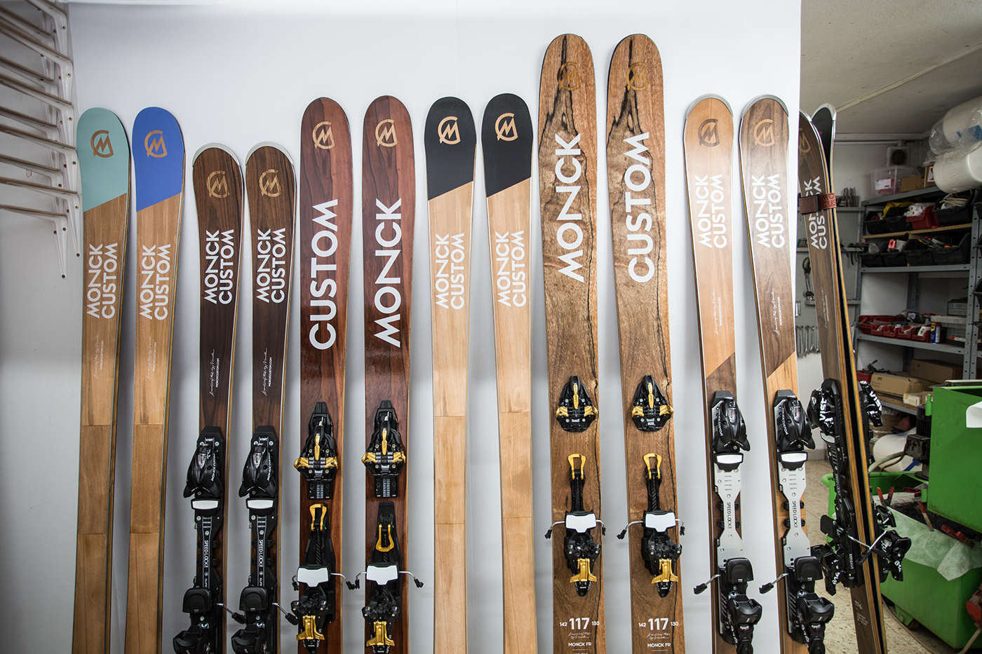 Monck Custom Skis On Behance