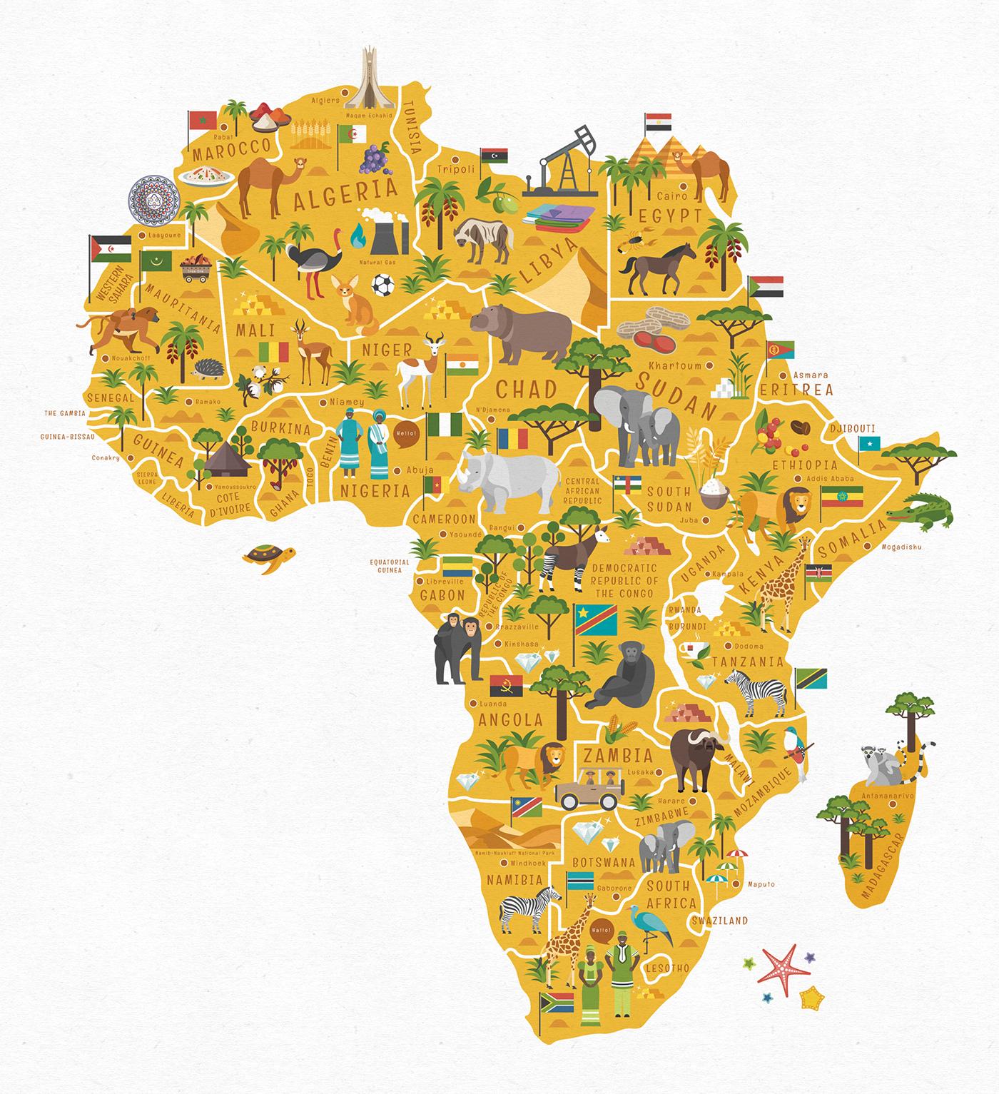 World map on behance gumiabroncs Choice Image