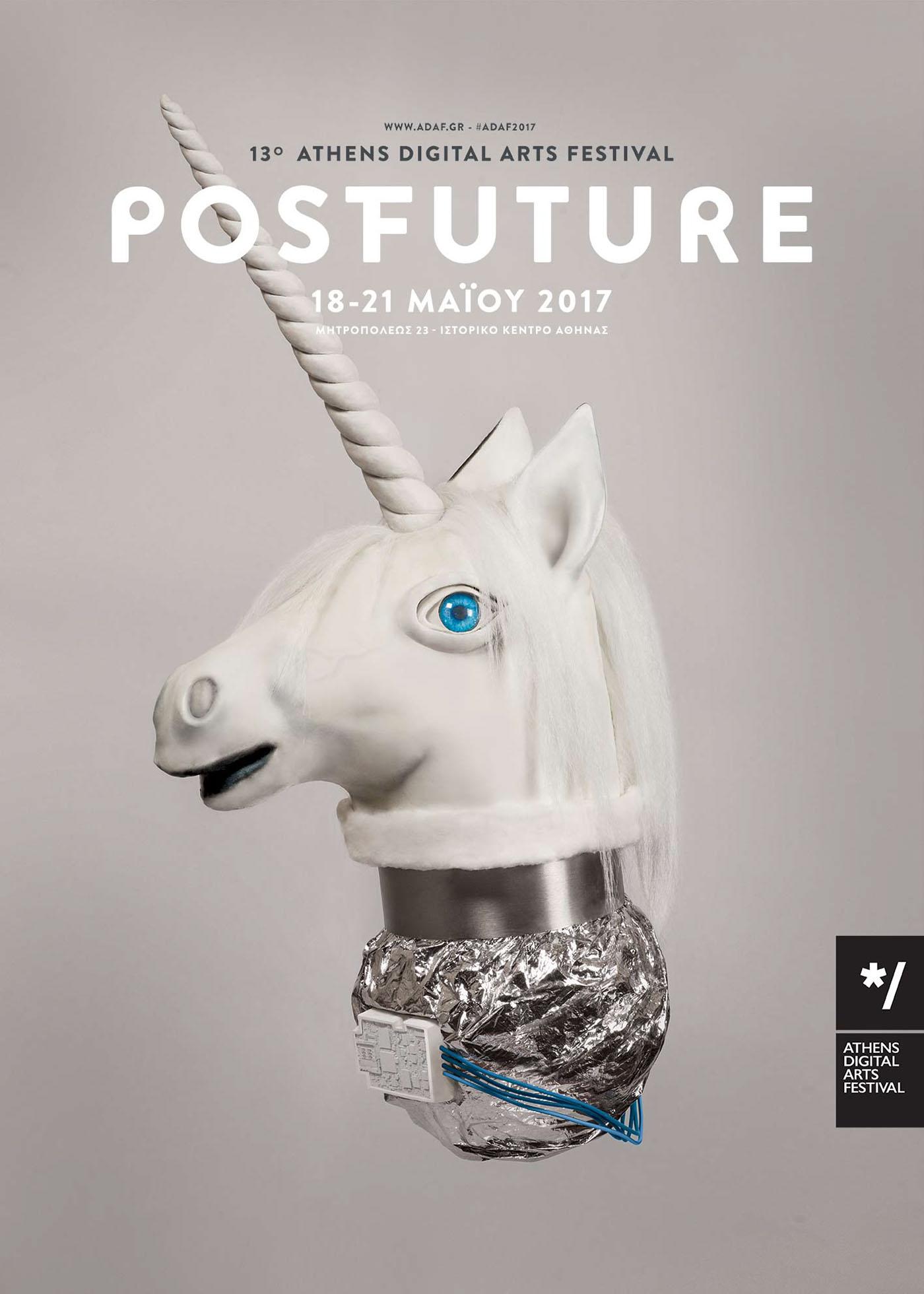 festival poster props graphic design  athens art festival