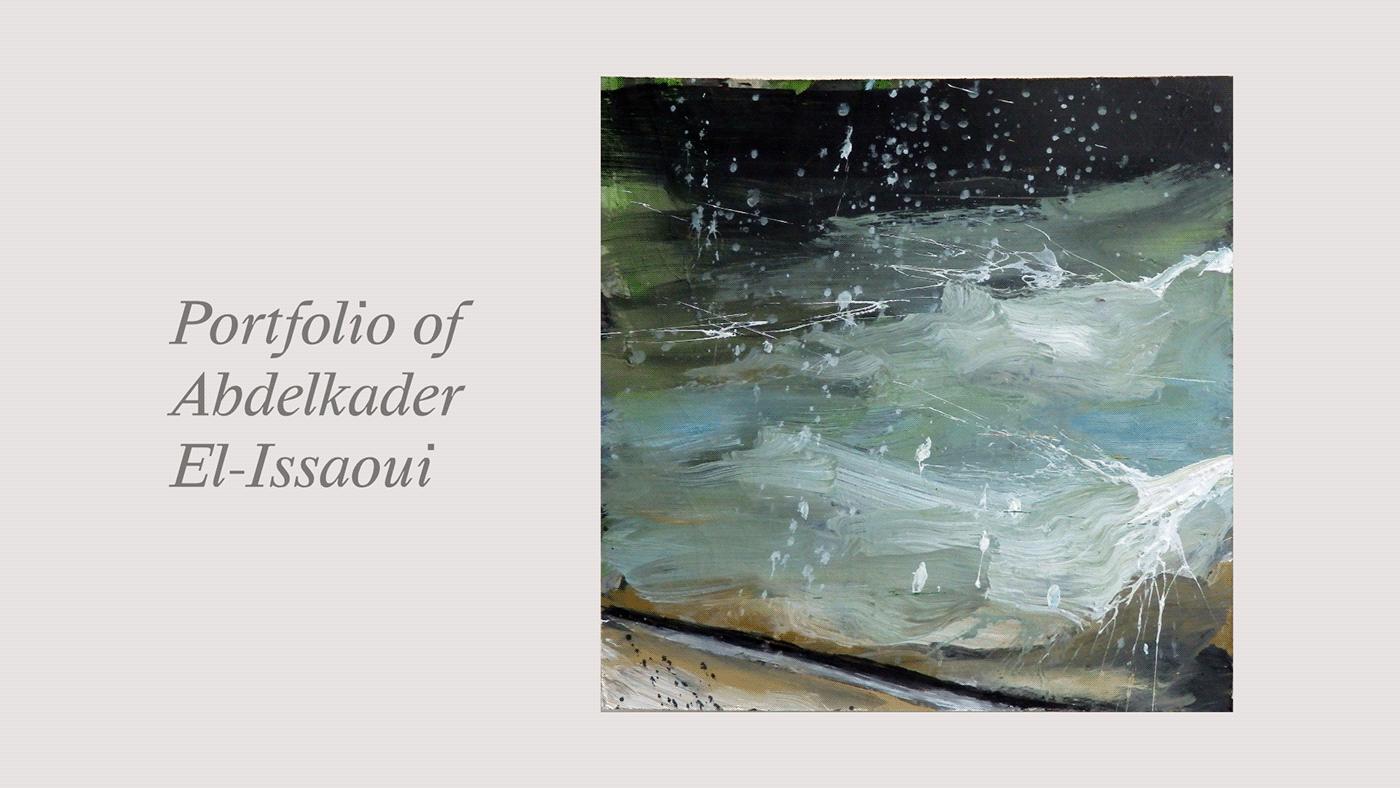 art painting   portfolio Webdesign development Website