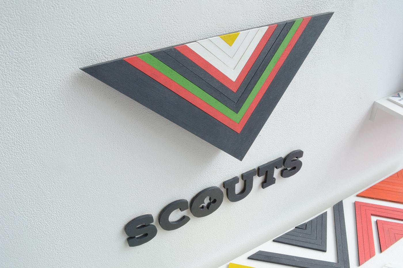 branding  graphic design  identity graduation project scouts scouting grafisch ontwerpen
