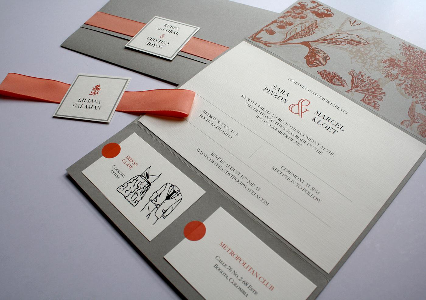 Wedding Stationary Design on Behance